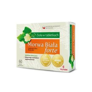 Morwa Biała Forte, 60 tabletek