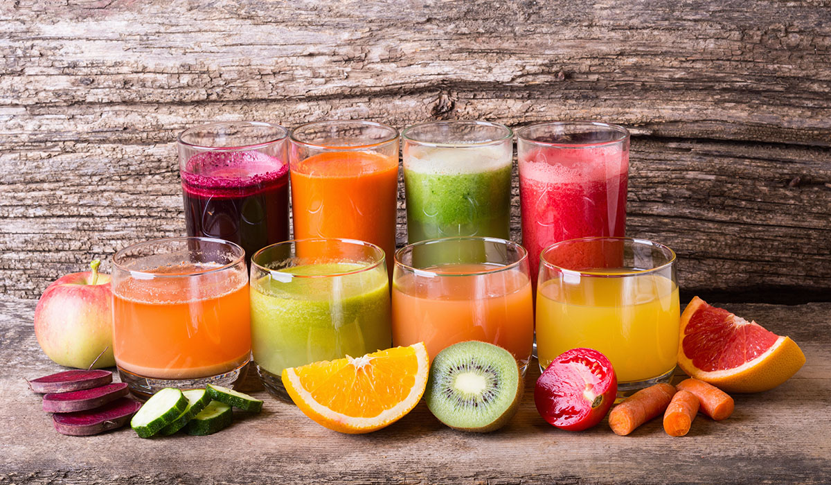 sok owoc warzywo