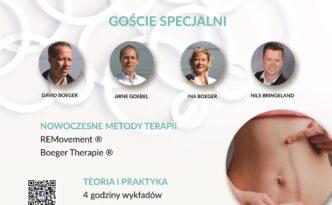 plakat konferencji - terapia blizn